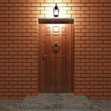 Entrance door Royalty Free Stock Images