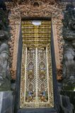 Entrance Door In Bali Stock Image