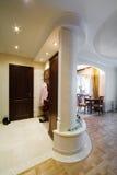 Entrance door and corridor Royalty Free Stock Photography