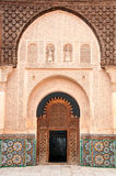 Entrance door decoration in Marrakech, Morocco Royalty Free Stock Photo