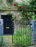 Entrance door, England royalty free stock images