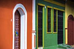 Entrance Door in Granada, Nicaragua Stock Photos