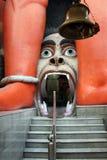Entrance door of Hanuman Temple Stock Photography