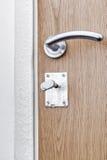 The entrance door has frozen Stock Images