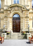 Entrance Door Saltaire Royalty Free Stock Images