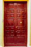 Entrance Door. In Spanish style Royalty Free Stock Image