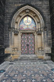 Entrance door of St. Peter and Paul Royalty Free Stock Image
