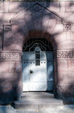 Entrance door from the street Royalty Free Stock Image