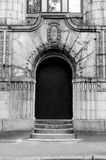 Entrance door from the street Royalty Free Stock Photo