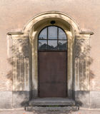 Entrance door from the street Stock Photos