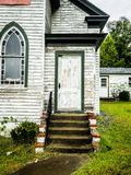 Entrance Door to Country Church Stock Photography