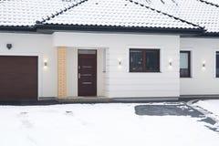 Entrance door to the house Stock Photos