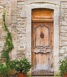 Entrance doors in Avignon, France Stock Image