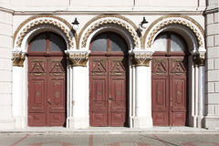 Entrance doors Stock Images