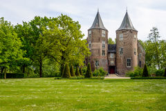 Entrance Dussen castle in the Dutch province of Noord-Brabant Stock Photography