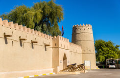 Entrance of the Eastern Fort of Al Ain Stock Image
