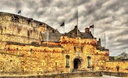 Entrance of Edinburgh Castle - Scotland Stock Image