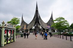 Entrance of Efteling, theme park, Netherlands Royalty Free Stock Images