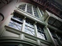 Entrance of the Ellis Island Museum. Beautiful Entrance of Ellis Island Museum Stock Photography