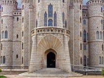 Episcopal Palace - Astorga royalty free stock photography