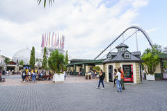 Entrance of Europa Park in Rust, Germany. Stock Image