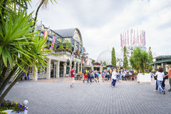 Entrance of Europa Park in Rust, Germany. Royalty Free Stock Photography