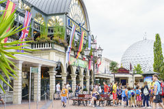 Entrance of Europa Park in Rust, Germany. Stock Images