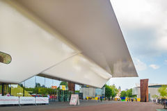 Entrance of the famous Stedelijk Musem in Amsterdam Stock Photo