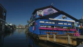 Entrance Fisherman's wharf Victoria Vancouver island stock video