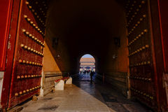 Entrance of Forbidden City. Forbidden City in Beijing China Royalty Free Stock Photos