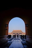 Entrance of Forbidden City Beijing China Royalty Free Stock Images