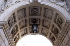 Entrance of Foreign and Commonwealth Office, London, England Royalty Free Stock Photo