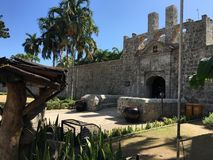 Entrance from Fort San Pedro Royalty Free Stock Photos