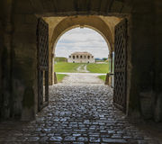 Entrance of fortification Cussac-Fort-Medoc Royalty Free Stock Photography