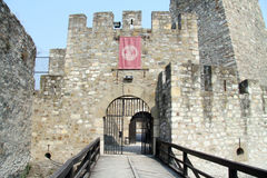 Entrance of fortress Stock Images