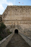 Entrance of fortress Royalty Free Stock Photo