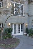 entrance front home στοκ εικόνα