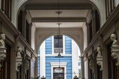Entrance of the FUGAZ gallery passage Ronald Royalty Free Stock Photo