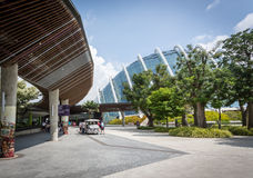 Entrance Gardens by the Bay, Singapore Royalty Free Stock Photos