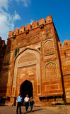 Entrance gate in Agra Fort Royalty Free Stock Image