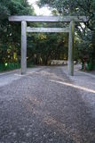Entrance gate of Atsuta shrinetorii Royalty Free Stock Images