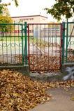 Entrance gate Stock Photos