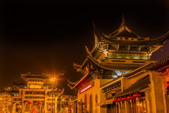 Entrance Gate Buddhist Nanchang Temple Pagoda Wuxi Jiangsu China Royalty Free Stock Photos