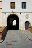 The entrance gate of the castle Spilberk in Brno, Royalty Free Stock Photo