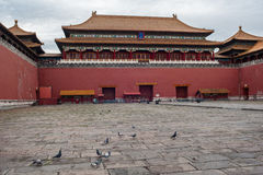 The entrance gate of Forbidden City Royalty Free Stock Photography
