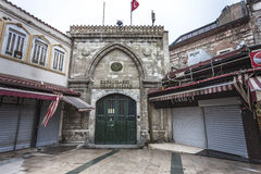 Entrance gate of Grand Bazaar, Istanbul Royalty Free Stock Image