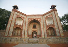 Entrance gate at Humayun Tomb Stock Photo