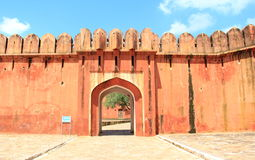 Entrance gate of Jaigarh Fort,Jaipur. Stock Image
