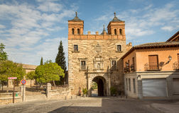 Entrance Gate in the Medieval city of Toledo Royalty Free Stock Image