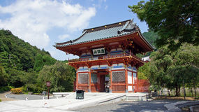 Free Entrance Gate Of Katsuoji Temple In Japan Royalty Free Stock Image - 59760566